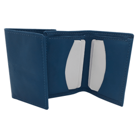 Porte carte LAURA Bleu turquoise